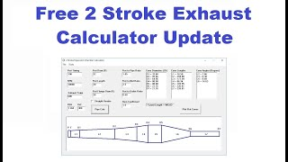 Free 2 stroke Expansion Chamber Calculator Software Update