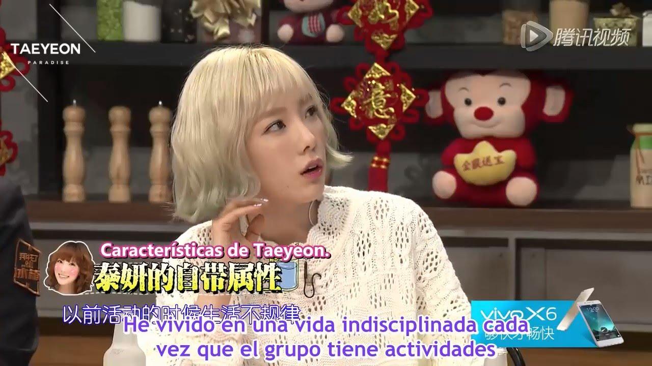 "[SUB ESPAÑOL] - 160127 | Taeyeon en ""Please Take Care of my fridge"""