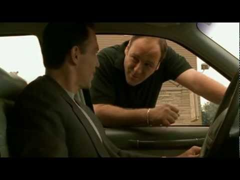 Tony Joking With Mikey Palmice - The Sopranos HD