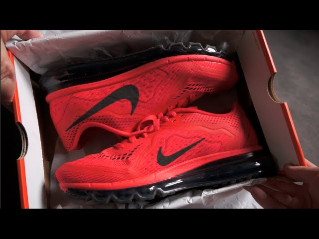 air max 2014 red black