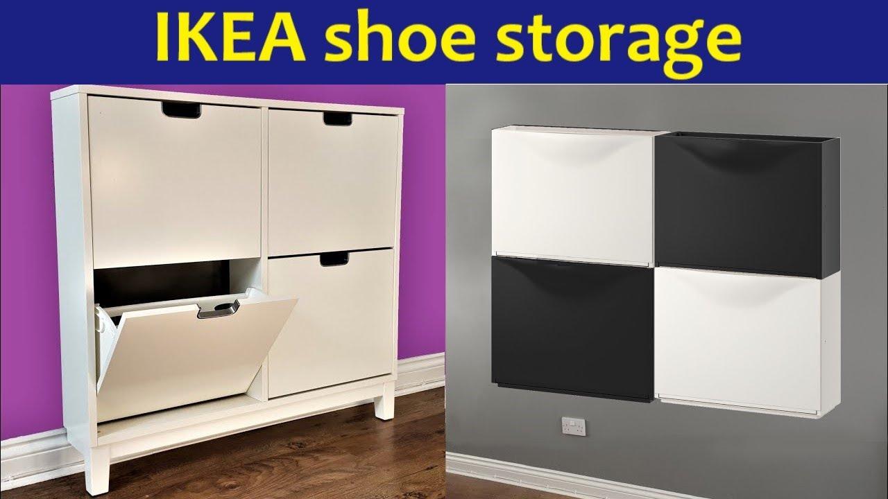 Ikea shoe cabinets Trones vs Stall