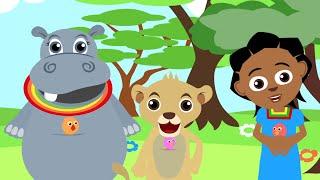 Akili y Me Africanos Educativas de dibujos animados!