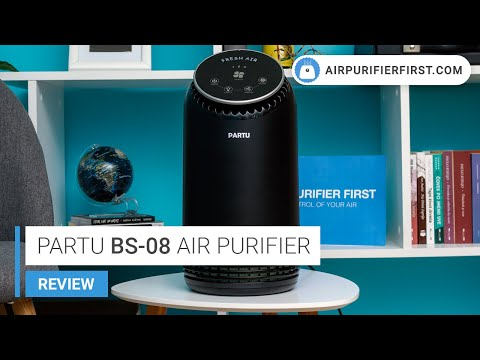 PARTU Air Purifier BS-08 Review (Performance Test and Smoke Box)