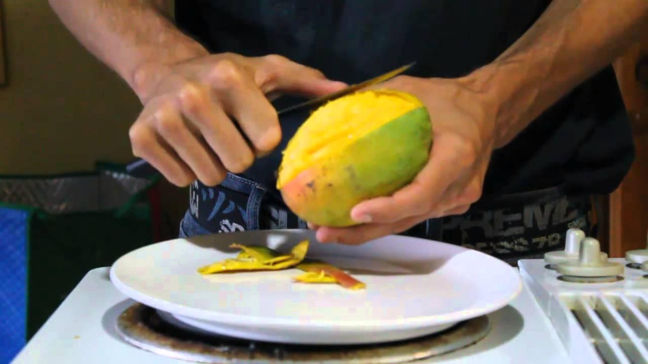 Comment couper une mangue et bien la choisir youtube - Comment couper une courgette ...