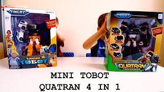 Распаковка Тобот Кватран 4 машинки/Unboxing TOBOT QUATRAN 4 IN 1