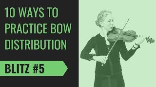 Violin Bowing Tip: Drawing the Map