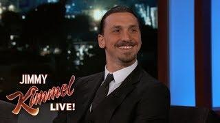 Zlatan Ibrahimović on Playing for LA Galaxy, His Nicknames & The World Cup by : Jimmy Kimmel Live