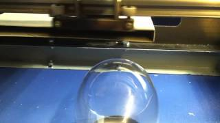 40w laser engraver wine glass