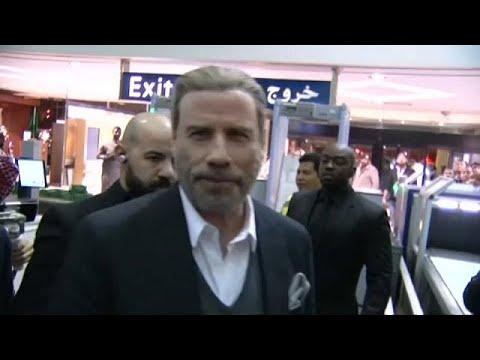 نجم السينما الأمريكية جون ترافولتا في السعودية  - 13:21-2017 / 12 / 16