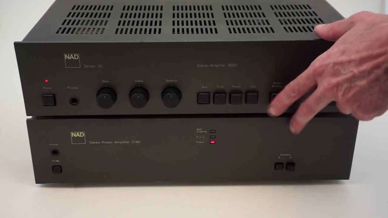 Nad 3020 works as a preamp with 2140
