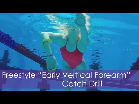 """Freestyle """"Early Vertical Forearm"""" EVF Catch Drill"""
