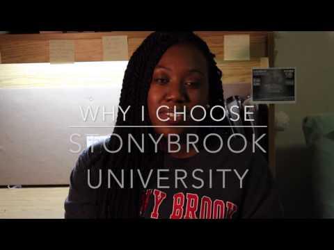 Why I Choose StonyBrook University