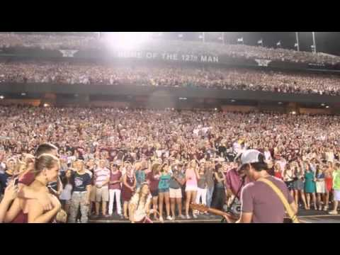 """Granger Smith """"We Bleed Maroon"""" at Kyle Field (full video)"""