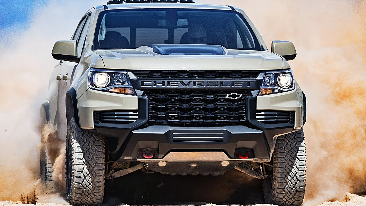 Chevy Las Vegas >> 2021 Chevrolet Colorado – Ready to fight Ford Ranger - YouTube