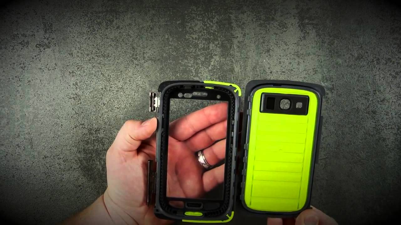 reputable site 0ccf5 08fe6 Galaxy S4 Cover OtterBox Armor Series Installation