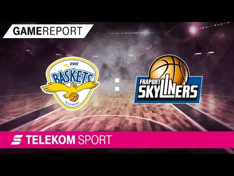EWE Baskets Oldenburg - FRAPORT Skyliners | 34. Spieltag, 17/18 | Telekom Sport