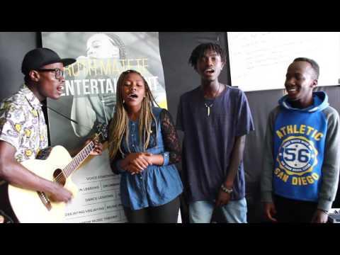 Nasinzia nikikuwaza, Kuliko Jana, Shape of you & Chuki Mashup Cover - RMMA LIVE