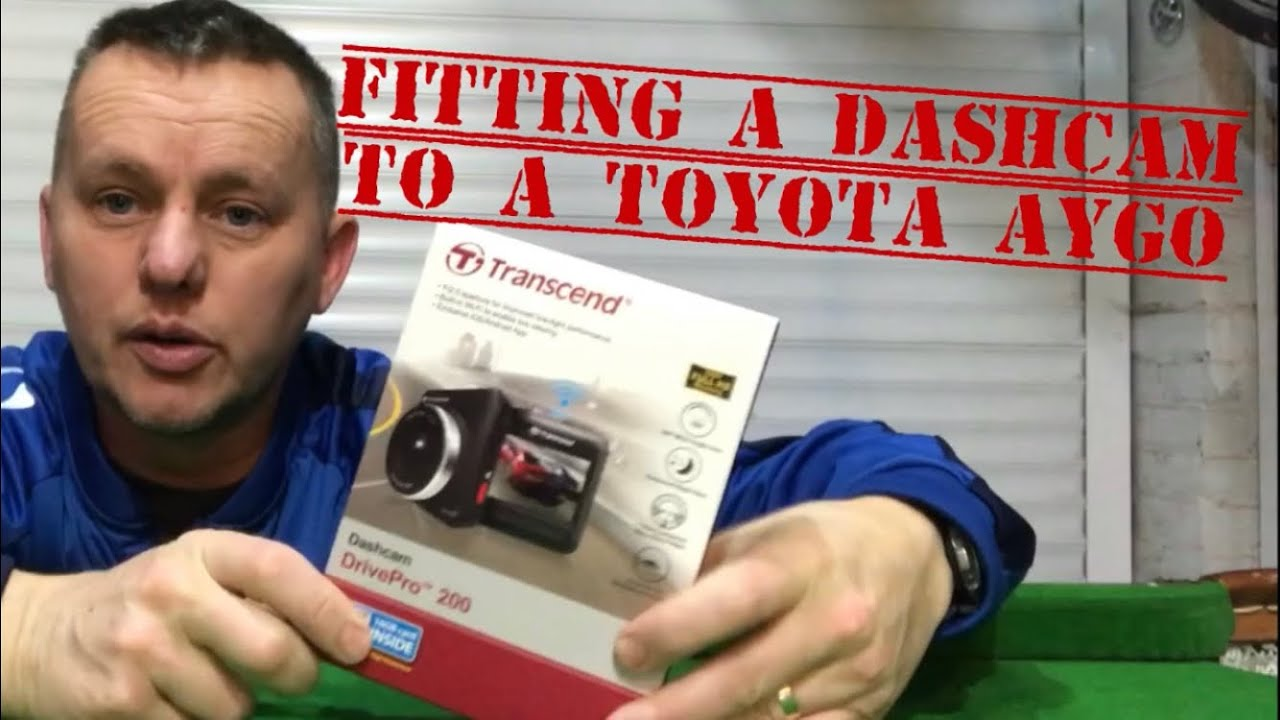 Fitting A Dash Cam Hiding The Wires To Toyota Aygo Same As 2008 Yaris Fuse Box Citroen C1 Peugeot 107 Trancend