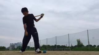 少年野球2 朝練 28.7.26