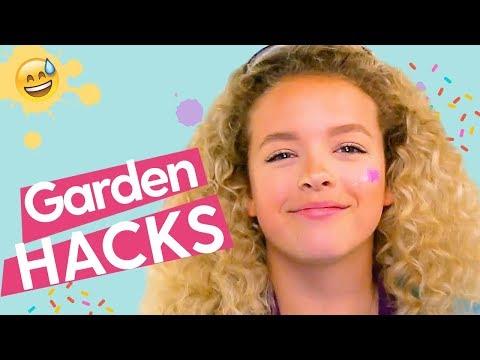 DIY Indoor Garden Crafts: DIY Wind Chime, DIY Herb Garden, DIY Sprout House | GoldieBlox
