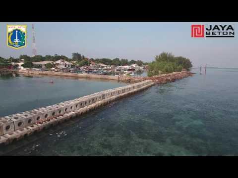Proyek Pembangunan Breakwater Kepulauan Seribu  - Suku Dinas Tata Air Kepulauan Seribu