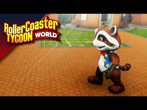 HET TDT PRETPARK!! - Rollercoaster Tycoon World #1