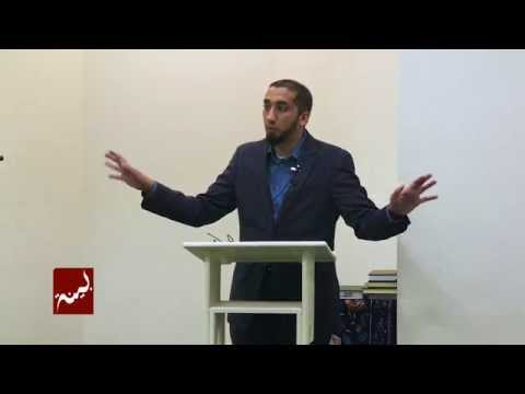 Khutbah by Nouman Ali Khan: Fear, Grief, and Insults