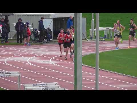 1500 metres male race 3 Tonbridge AC Easter Open Meeting 02042018