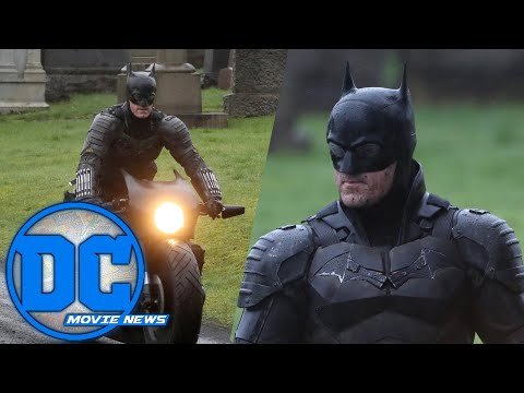 New Batman Set Photos!!! | DC Movie News