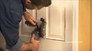 DUALSAW Installing a Pet Door