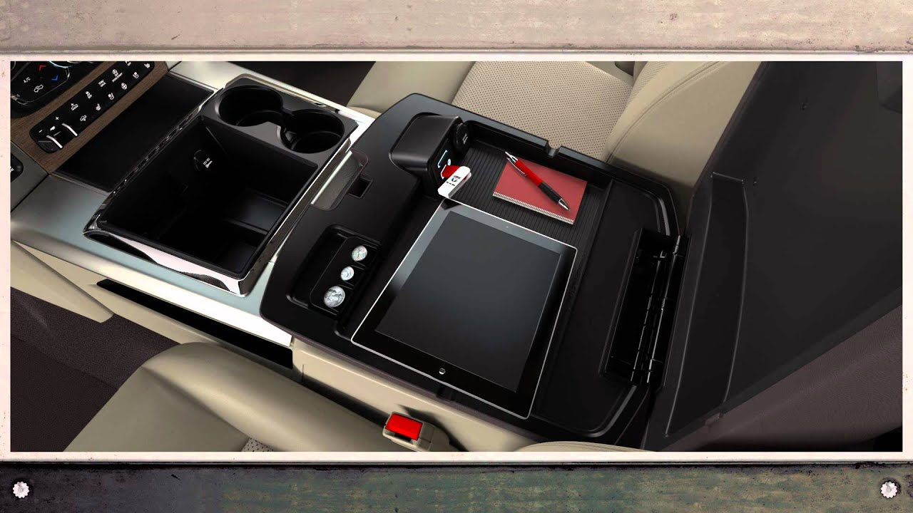 2013 Ram 1500 Center Console Storage Youtube
