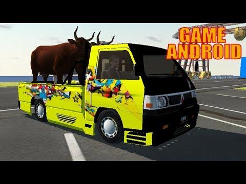Review L300 IDBS Pickup Simulator Bawa Muatan Sapi | Game Mobile Simulator