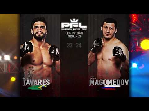 PFL Full Fight Friday: Rashid Magomedov vs. Thiago Tavares from PFL Playoffs: Long Beach