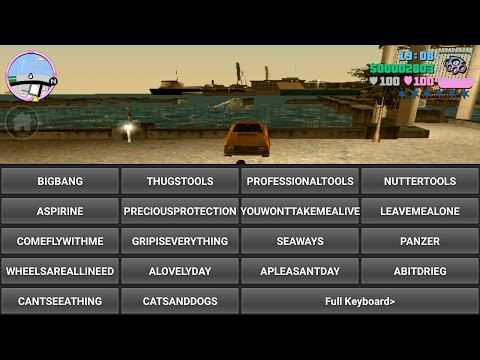 How To Use Cheats In Gta Vice City Any Android Device Free 100