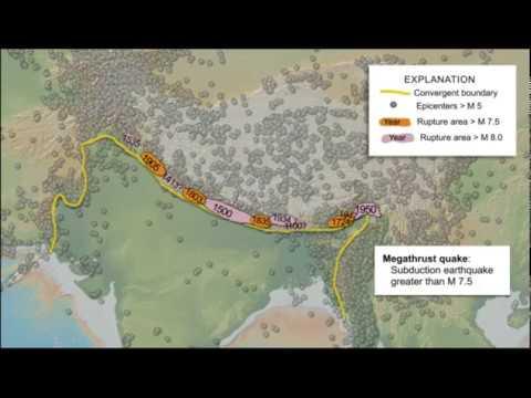 Tectonics & Earthquakes of the Himalaya