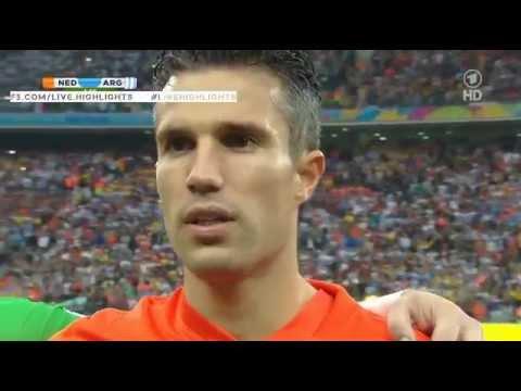 Dutch National Anthem-Netherlands National Anthem WC 2014