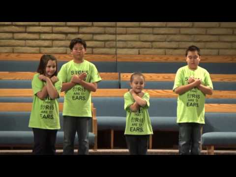 Valley Presbyterian School Sign Language (after school program) VPS Winter 2016