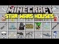 Minecraft INSTANT HOUSES MOD! | SUMMON STAR WARS TEMPLES, BUILDINGS, AND MORE! | Modded Mini-Game