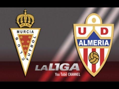 Gol de Kike García (1-0) en el Real Murcia - UD Almería - HD