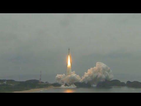 Jaxa H-IIA Rocke Launching Mitsubischi Michibiki 2 Navigation Satellite To Geostationary Orbit