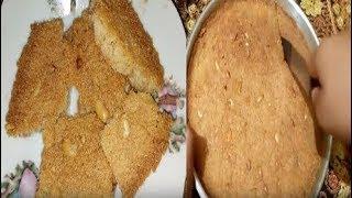 سر عمل البسبوسة الطرية و المتماسكة في البيت مثل البسبوسة الجاهزة عند الحلواني - وصفة مضمونة 100 % Video