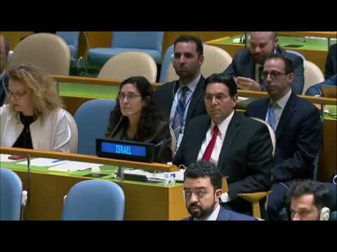 Illegal Israeli Actions In Occupied East Jerusalem And Palestine - UN General Assembly