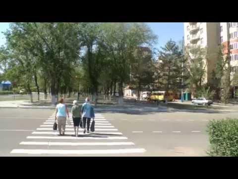 Астрахань.Ул.Татищева/Савушкина*Full HD *