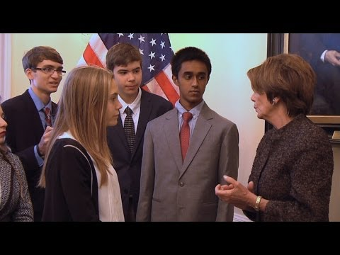 Teen Confronts @NancyPelosi on #NSA from YouTube · Duration:  1 minutes 35 seconds