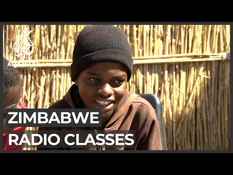 Zimbabwe education: School lessons broadcast on the radio