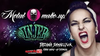 JINJER - Tatiana Shmailyuk stage make-up tutorial