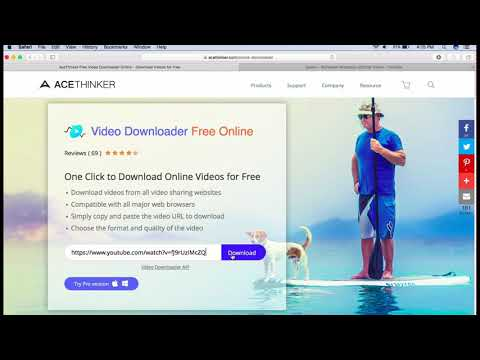 AceThinker Free YouTube Downloader Online - Easy and Fast