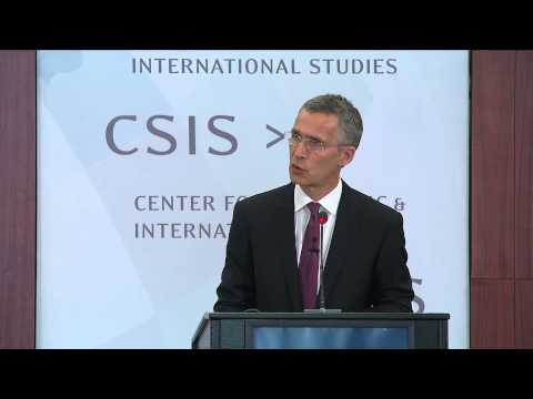 Adapting to a changed security environment - NATO Secretary General at CSIS, 27 May 2015 - Part 1/2