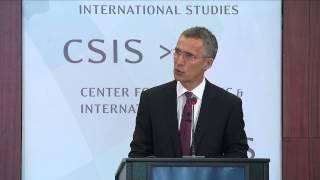 Adapting to a changed security environment - NATO Secretary General at CSIS, 27 May 2015 - Part 1/2