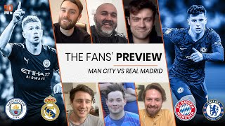 MANCHESTER CITY VS REAL MADRID! Are Man City Favourites? Will Chelsea comeback vs Bayern Munich